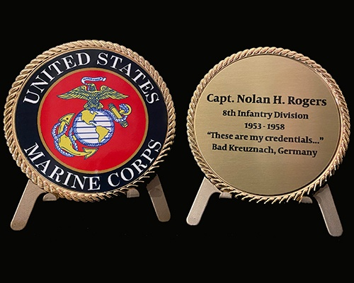 Custom challenge coin, custom printed challenge coin, printed coin, USMC coin, ARMY coin, Navy coin, buy military coin gift